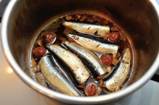 いわし の 梅 煮 圧力 鍋